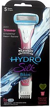 Духи, Парфюмерия, косметика Бритва 2в1 + 1 сменное лезвие - Wilkinson Sword Hydro Silk Bikini