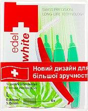 Парфумерія, косметика Щітки - Edel+White Dental Space Brushes L