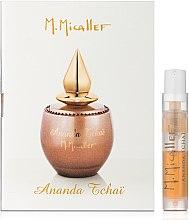 Духи, Парфюмерия, косметика M. Micallef Ananda Tchai - Парфюмированная вода(Пробник)