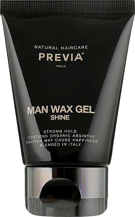 Гель-воск для волос - Previa Man Wax Gel Shine