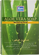 Духи, Парфюмерия, косметика Отбеливающие мыло для тела - Yoko Aloe Vera Whitening Soap
