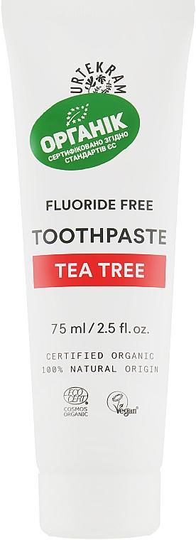 """Зубная паста """"Чайное дерево"""" - Urtekram Toothpaste Tea Tree"""