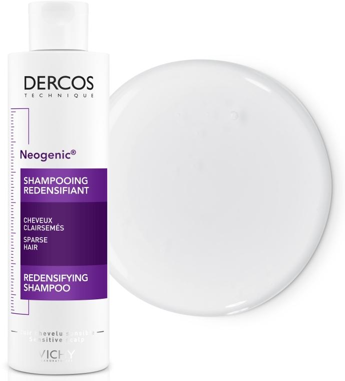 Укрепляющий шампунь для повышения густоты волос со Стемоксидином - Vichy Dercos Neogenic Redensifying Shampoo — фото N3