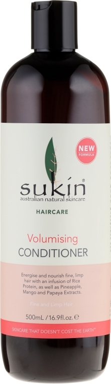 Кондиционер для объема волос - Sukin Volumising Conditioner