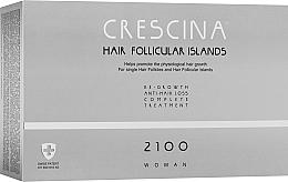 Духи, Парфюмерия, косметика Комплекс лечения волос для женщин в ампулах - Labo Crescina Complete Treatment Hair Follicular Island 2100