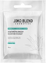 Духи, Парфюмерия, косметика Альгинатная маска успокаивающая с экстрактом зеленого чая и алоэ вера - Joko Blend Premium Alginate Mask