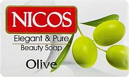"Духи, Парфюмерия, косметика Мыло косметическое ""Оливковое"" - Nicos Beauty Olive Oil Soap"