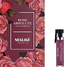 Духи, Парфюмерия, косметика Neglige Rose Absolute - Парфюмированная вода (пробник)