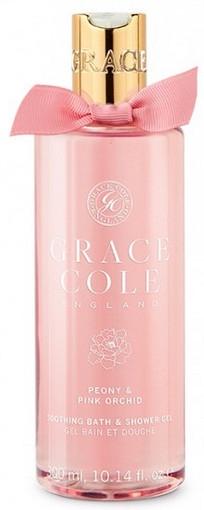 """Гель-пена для душа """"Пион и Розовая орхидея"""" - Grace Cole Peony & Pink Orchid Bath & Shower Gel"""