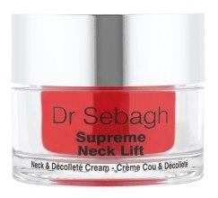 Духи, Парфюмерия, косметика Восстанавливающий крем для шеи и области декольте с эффектом лифтинга - Dr Sebagh Supreme Neck Lift Cream