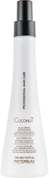 Спрей-масло для волос с кокосовым маслом - Phytorelax Laboratories Coconut Silky Spray Oil