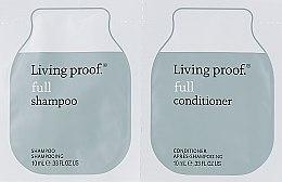 Духи, Парфюмерия, косметика Набор пробников для волос - Living Proof Full (shm/10ml + cond/10ml) (пробник)