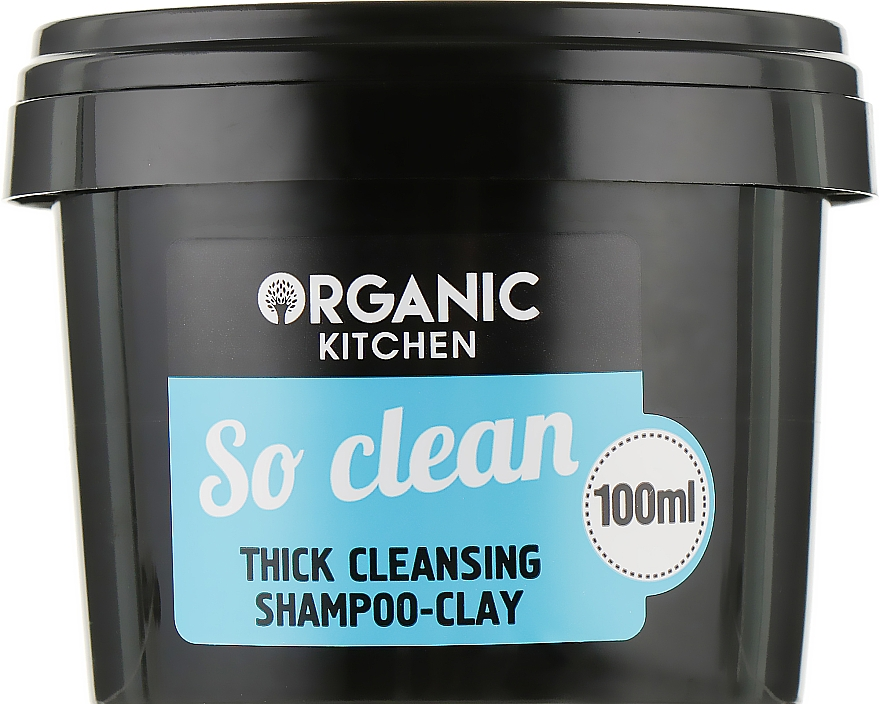 "Шампунь-глина очищающий ""So clean"" - Organic Shop Organic Kitchen Thick Cleansing Shampoo-Clay"