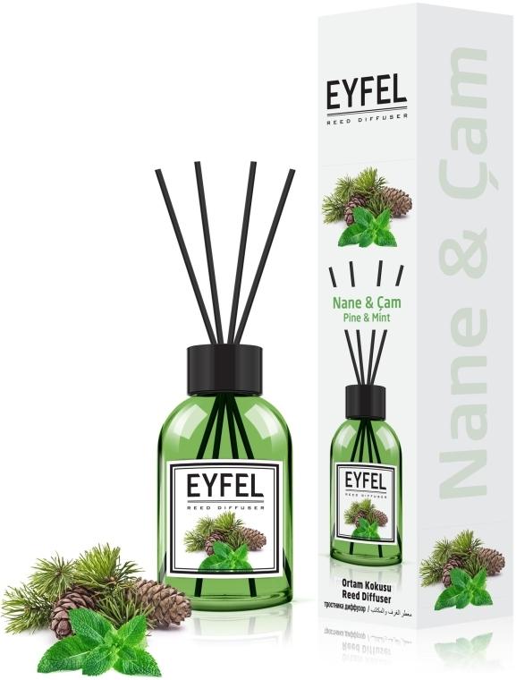 """Аромадиффузор """"Мята"""" - Eyfel Perfume Reed Diffuser Mint"""