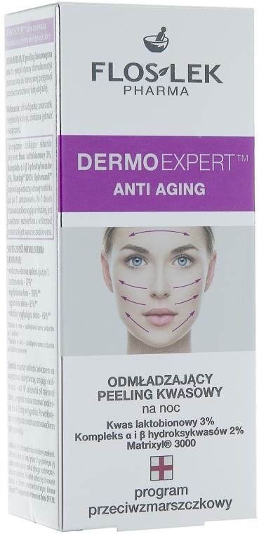 Омолаживающий кислотный пилинг - Floslek Dermo Expert Anti Aging Acid Peeling