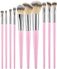 Духи, Парфюмерия, косметика Набор профессиональных кистей для макияжа, розовый, 10 шт - Tools For Beauty