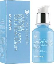 Духи, Парфюмерия, косметика Сыворотка для проблемной кожи лица - Mizon Acence Blemish Spot Solution Serum