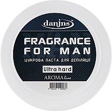 """Духи, Парфюмерия, косметика Парфюмированная сахарная паста для депиляции """"Для мужчин"""", ультра твердая - Danins Fragrance For Man Sugar Paste Ultra Hard"""