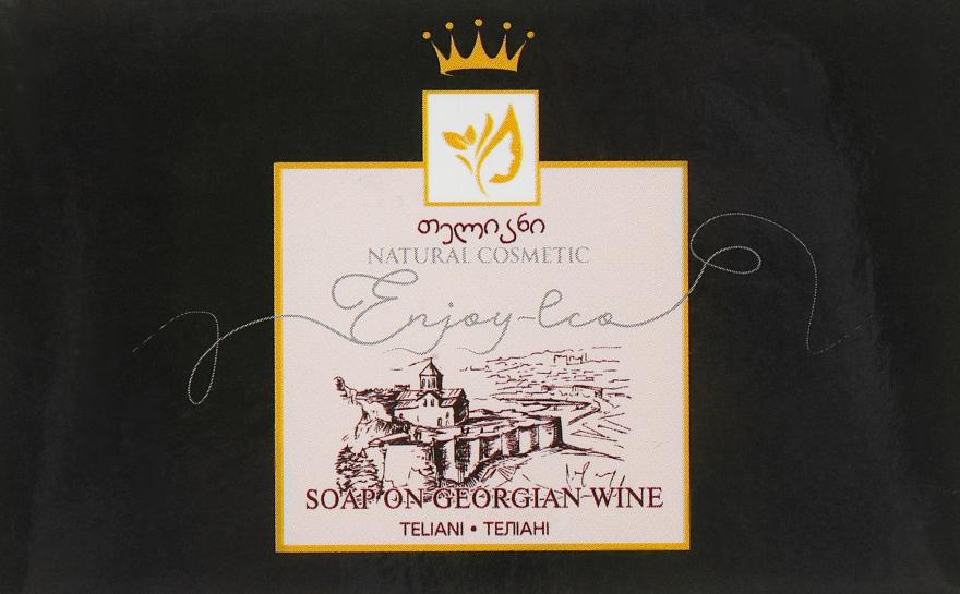 """Натуральное мыло """"На красном вине Телиани"""" - Enjoy & Joy Enjoy Eco Soap"""