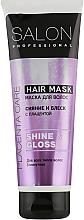 Духи, Парфюмерия, косметика 3-минутная маска для всех типов волос - Salon Professional Shine and Gloss