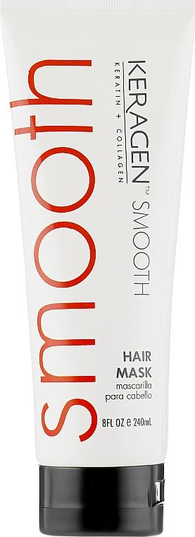 Лечебная маска для волос - Organic Keragen Hair Smoothing Treatment Mask