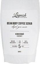 """Духи, Парфюмерия, косметика Кофейный скраб для тела """"Кокос"""" - Lapush Bean Body Coffee Scrub"""