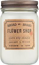 Духи, Парфюмерия, косметика Kobo Broad St. Brand Flower Shop - Ароматическая свеча