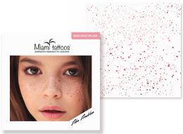 Духи, Парфюмерия, косметика Переводные тату-веснушки - Miami Tattoos Rose Splash
