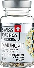 """Парфумерія, косметика Вітаміни в капсулах """"Ехінацея + прополіс + вітамін С + цинк"""" - Swiss Energy Immunovit"""