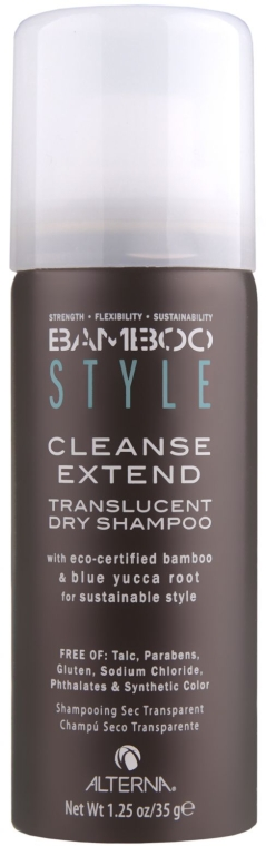 Сухой шампунь с экстрактом бамбука Альтерна - Alterna Bamboo Style Cleanse Extend Translucent Dry Shampoo