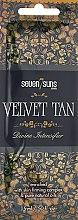 Духи, Парфюмерия, косметика Крем для загара в солярии с японской формулой молодости - 7suns Velvet Tan (пробник)