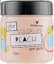 Духи, Парфюмерия, косметика Персиковый йогурт для тела - InJoy Color Line Peach