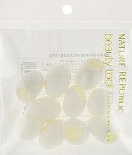 Коконы шелкопряда для очищения кожи - Nature Republic Beauty Tool Cocoon Silk Ball — фото N1