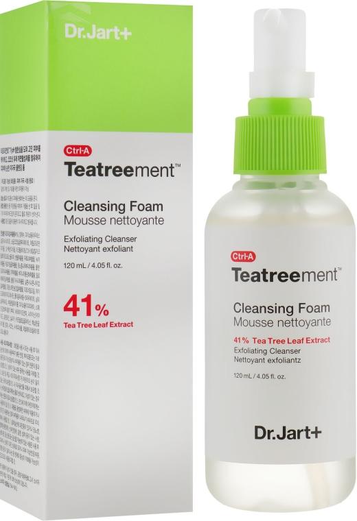 Пенка для умывания с экстрактом чайного дерева - Dr. Jart+ Ctrl-A Teatreement Cleansing Foam