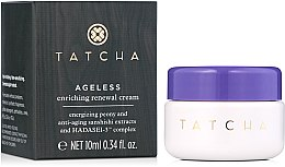 Духи, Парфюмерия, косметика Восстанавливающий крем для лица - Tatcha Ageless Enriching Renewal Cream (мини)