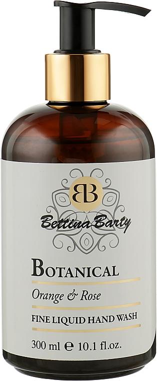 "Жидкое мыло ""Апельсин и роза"" - Bettina Barty Botanical Orange & Rose Hand Wash"