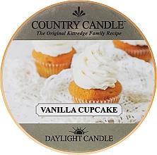 Духи, Парфюмерия, косметика Чайная свеча - Country Candle Vanilla Cupcake Daylight