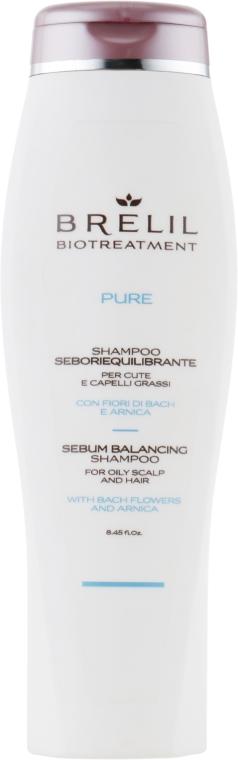 Шампунь для жирных волос - Brelil Bio Traitement Pure Sebum Balancing Shampoo