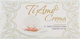 Духи, Парфюмерия, косметика Туалетное мыло с экстрактом жемчуга - Мыловаренные традиции Ti Amo Crema