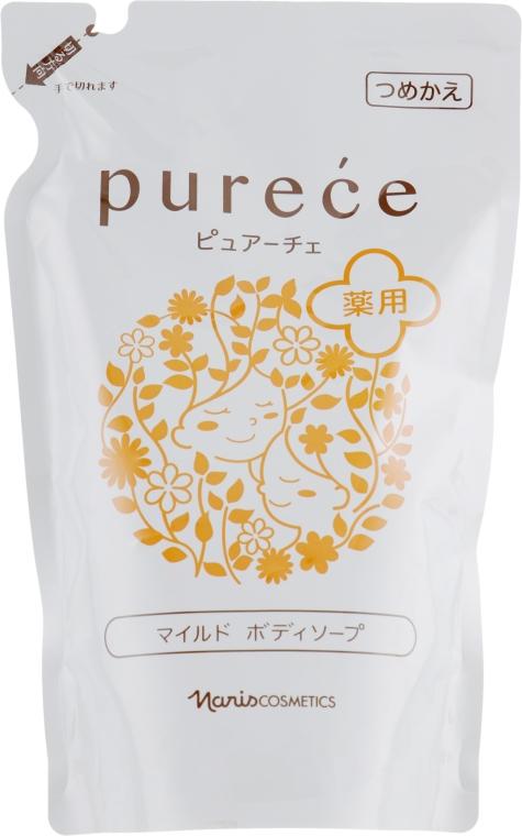Гипоаллергенное жидкое мыло для тела - Naris Purece (дой-пак)