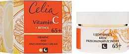 Духи, Парфюмерия, косметика Антивозрастной крем для лица на день и ночь 65+ - Celia Vitamin C