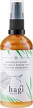 Духи, Парфюмерия, косметика Масло для тела с частицами золота и маслом чиа - Hagi Natural Body Oil with Chia Oil & Gold