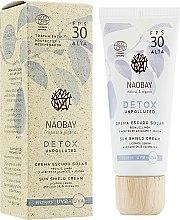 Духи, Парфюмерия, косметика Крем для лица солнцезащитный - Naobay Detox Sun Shield Cream SPF 30