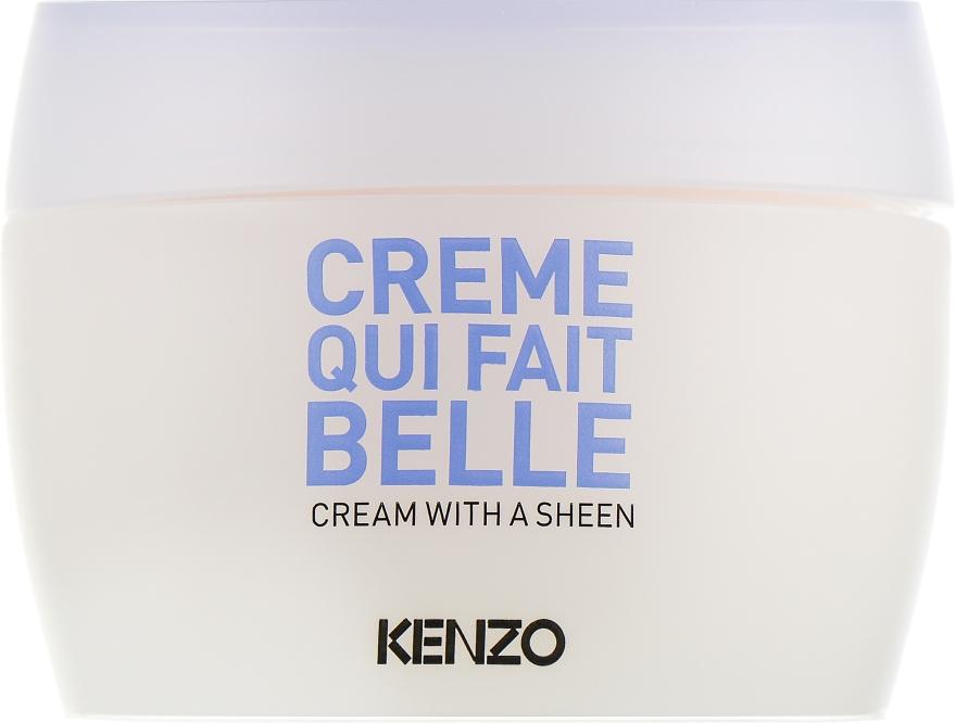 Сияющий крем для лица - KenzoKi White Lotus Cream With A Sheen