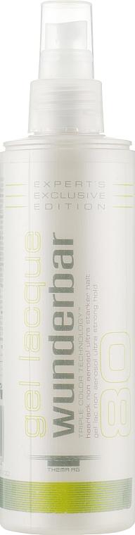 Гель-лак для волос ультрасильной фиксации, неаэрозольный - Wunderbar Color Gel Lacquer Non Aerosol