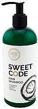 Духи, Парфюмерия, косметика Питательный шампунь для волос с кокосовым маслом - Good Mood Sweet Code Hair Shampoo