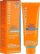 "Духи, Парфюмерия, косметика Крем для лица ""Сияющий загар"" - Lancaster Sun Beauty Velvet Touch Cream Radiant Tan SPF 30"