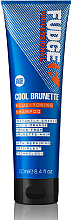 Духи, Парфюмерия, косметика Тонирующий шампунь для волос - Fudge Cool Brunette Blue-toning Shampoo Reviews