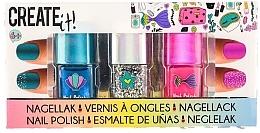"""Духи, Парфюмерия, косметика Набор лаков для ногтей """"Русалочка"""" - Create It! Nail Polish Glitter (nail/polish/3x8ml)"""