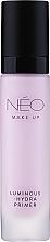 Духи, Парфюмерия, косметика Основа под макияж сияющая и увлажняющая - NEO Make Up Luminous Hydra Primer
